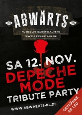Abwärts Music Club Depeche Mode Tribute Party