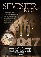 Cafe Royal Silvester Party
