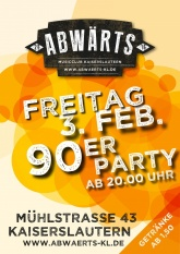 Abwärts Musicclub 90er Party