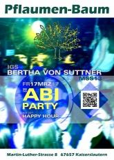 Pflaumenbaum Oberstufe IGS Bertha-von-Suttner