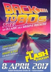 80er Party mit Dj Azze aka Groove Rockerz