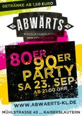 80er 90er Party
