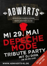 Abwärts Depeche Mode Tribute Party