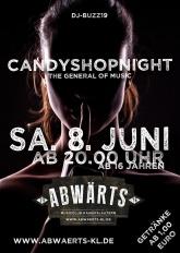 Abwärts CandyShopNight