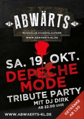 Abwärts Depeche Mode Tribute