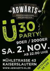 Abwärts Ü30 90er/2000er Party